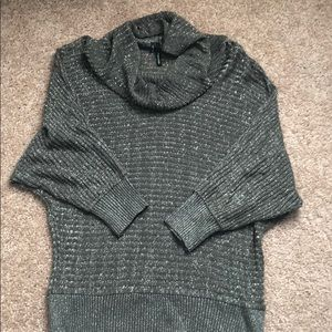 Maurices | Sparkly Silver Dolman Pullover